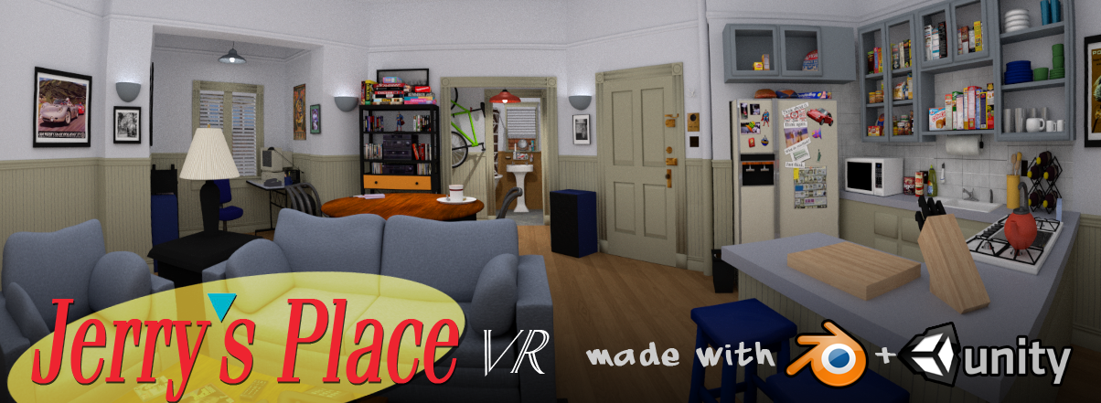 Jerry's Place for Virtual Reality